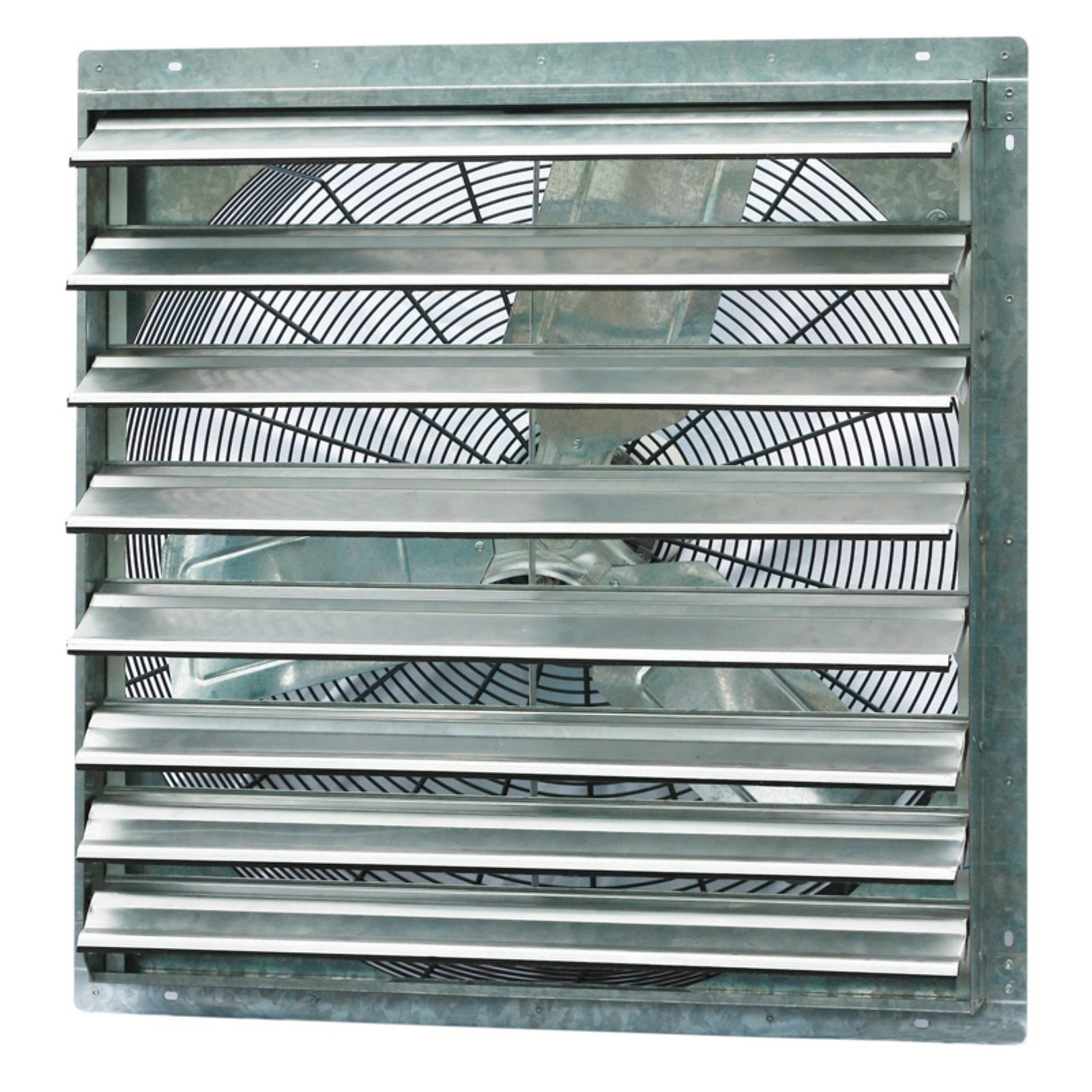 "iLIVING 30"" Single Speed Shutter Exhaust Fan, Wall-Mounted"