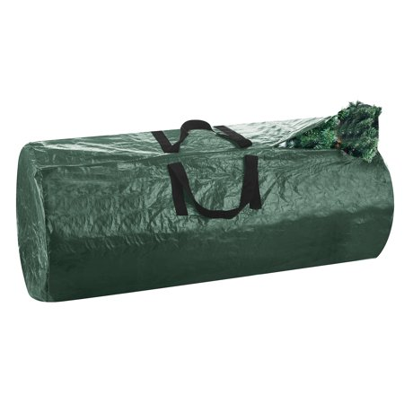 Christmas Holiday Christmas Tree - Christmas Tree Storage Bag-Extra Large Holds Up to 9 Ft. Tree- Durable, Tear-Proof, Long-Lasting Holiday Décor Organization by Elf Stor (Dark Green)