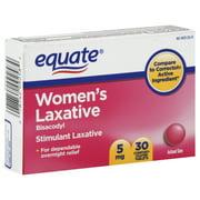 Equate Women's Stimulant Laxative, 30ct