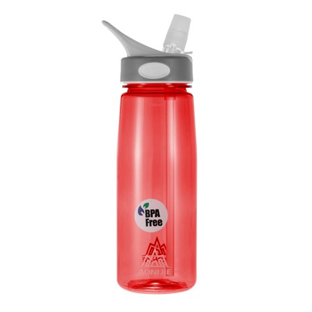 AONIJIE 750ml Water Bottle Cycling Camping Sport Water Cup with Straw