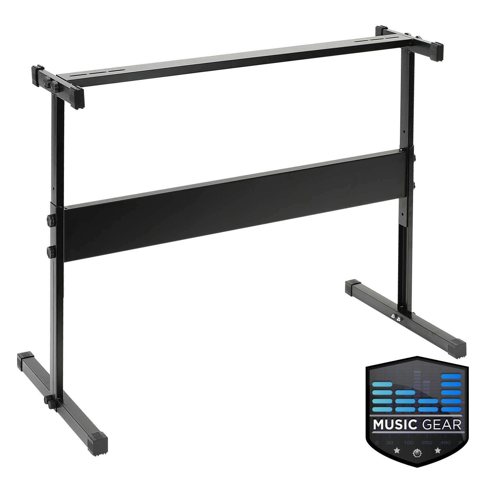 Adjustable Piano Stand Height Disassembled H Shape Keyboard Electronic Piano Stand