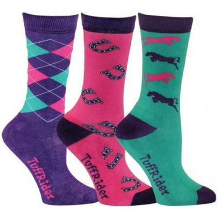 TuffRider Whimsical 3 Pack Kids Socks](Whimsical Clothing)