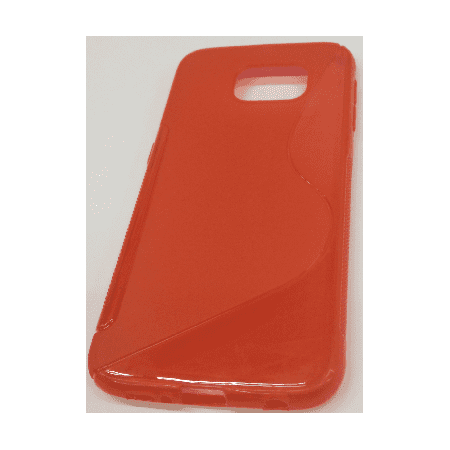Samsung Galaxy S6 S-Shape Case - Red - image 1 of 1