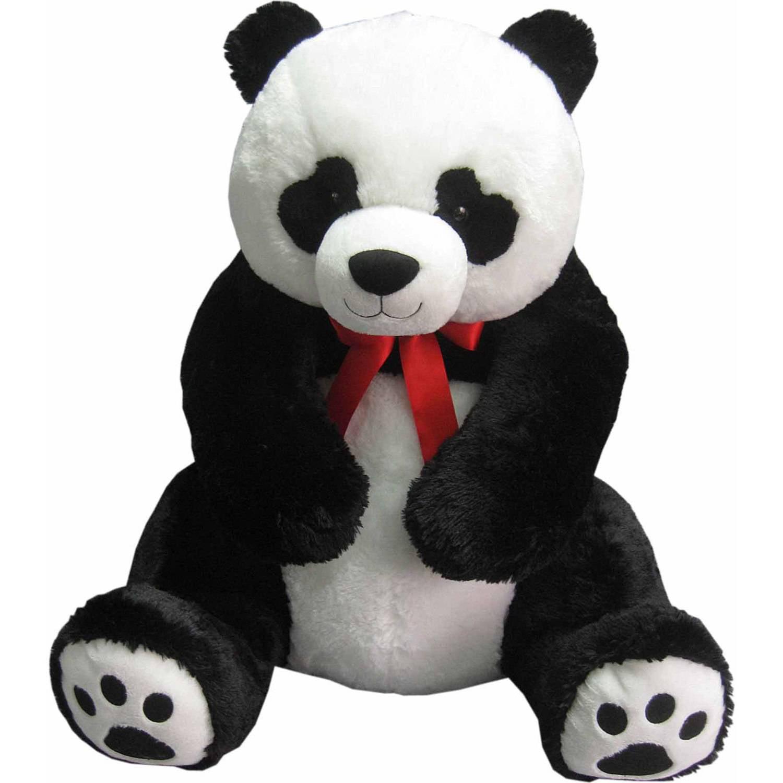 Valentine S Day Jumbo Plush Panda Walmart Com