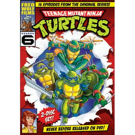 Teenage Mutant Ninja Turtles: Season 6 (DVD)](Sabrina The Teenage Witch Halloween Season 2)