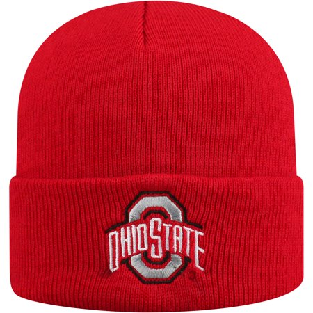 Men's Russell Athletic Scarlet Ohio State Buckeyes Team Cuffed Knit Hat - OSFA (Ohio State Knit Hat)
