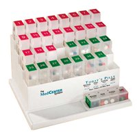 MedCenter Four-a-Day Monthly Pill Organizer