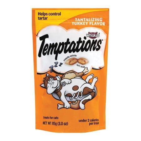 Temptations Turkey Flavor Cat Treats (Pack of 8)