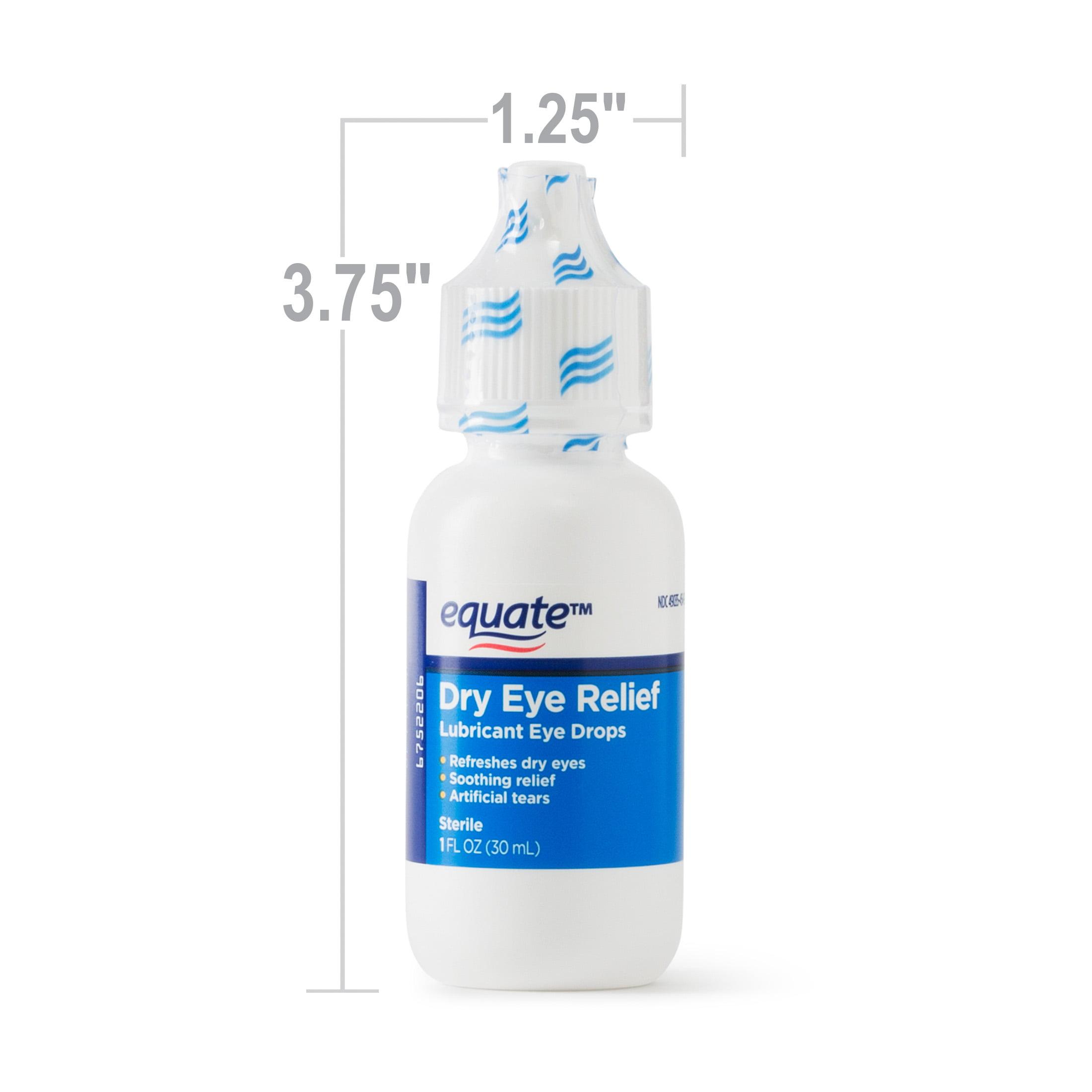 Equate Dry Eye Relief Lubricant Eye Drops Liquid 1 Oz Walmartcom