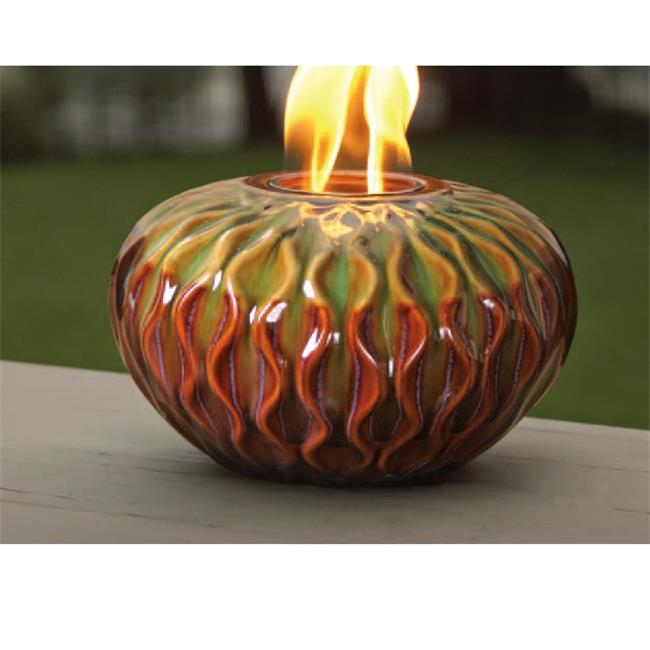 Marshall Home MBL-55-2-1750N 10. 25 W x 6 H inch, Large Weave Ceramic Firepot