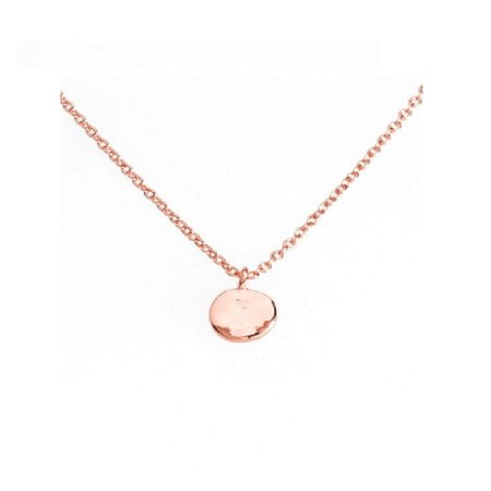 Gorjana Chloe Charm Adjustable Necklace In Rose Gold 178109R