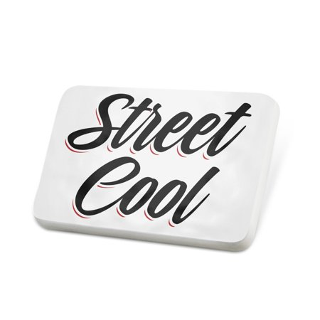 Porcelein Pin Vintage Lettering Street Cool Lapel Badge – NEONBLOND - Cool Labels