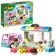 LEGO DUPLO Town Bakery 10928 Educational Building Toy for Kids Aged 2 and up (46 Pieces)