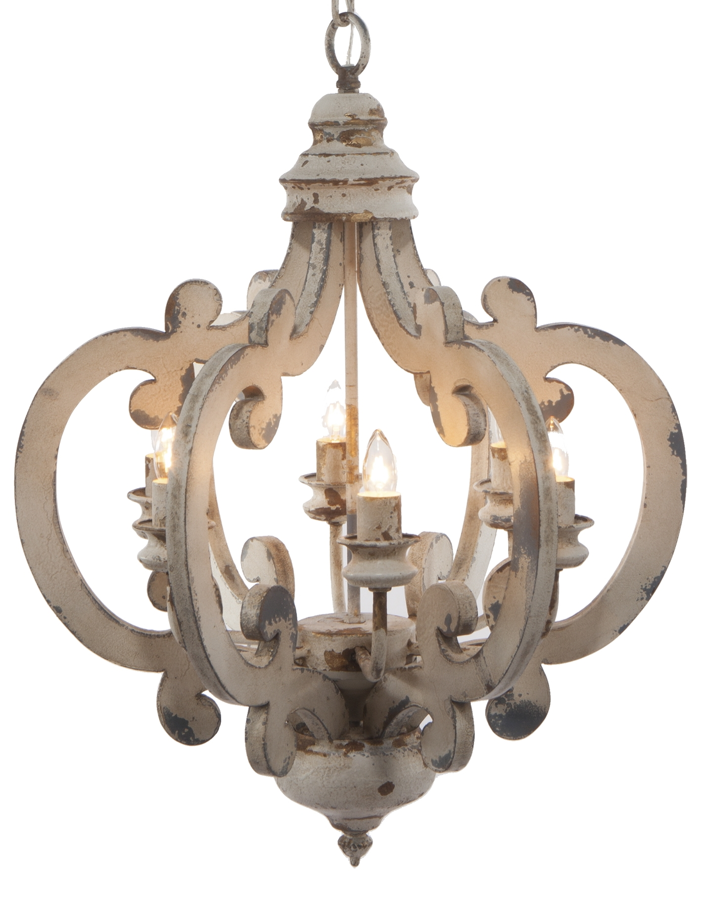 A&B Home Group, Inc 6 Light Mini Chandelier by A&B Home Group, Inc