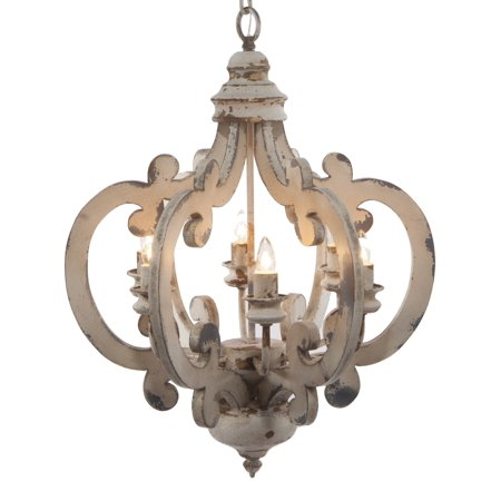 Brooksdale Mini Chandelier - A&B Home Group, Inc 6 Light Mini Chandelier