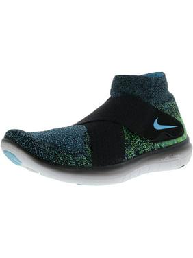 huge selection of 3d70a 35f56 Product Image Nike Men s Free Rn Motion Fk 2017 Black   Chlorine Blue -  Volt Mid-Top