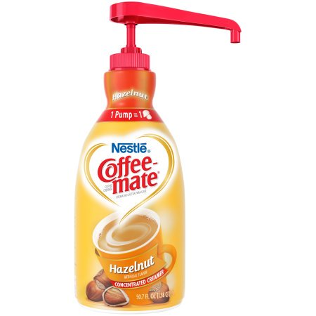 Liquid Coffee Creamer,Pump,Hazelnut