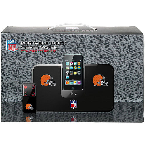 Portable Premium Idock With Remote Control - Cleveland Browns Cleveland Browns HPFBCLEIDP