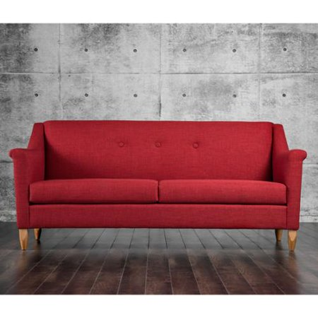 Furniture of america winslow modern mid century tufted for Furniture of america customer service