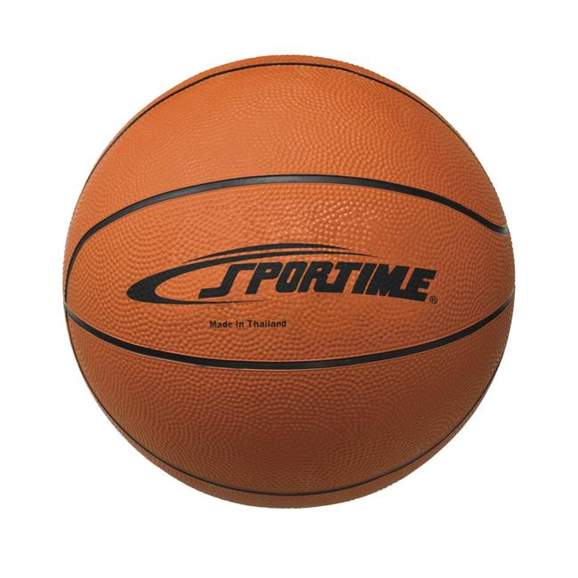 Sportime 1599283 Mens Rubber Basketball, 29.50 in. - Tan