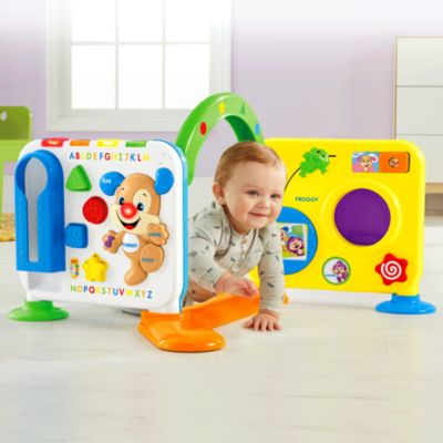 Fisher Price Laugh N Learn Crawl Around Learning Center (Frustration Free Packaging) by FISHER PRICE