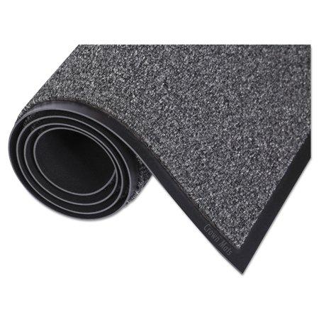 - Crown Walk-A-Way Indoor Wiper Mat, Olefin, 36 x 60, Gray