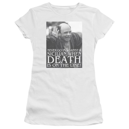 Princess Bride Sicilian Juniors Premium Bella Shirt