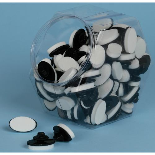 Stylus Tip Foam Small Jar 100 Pieces-Oval