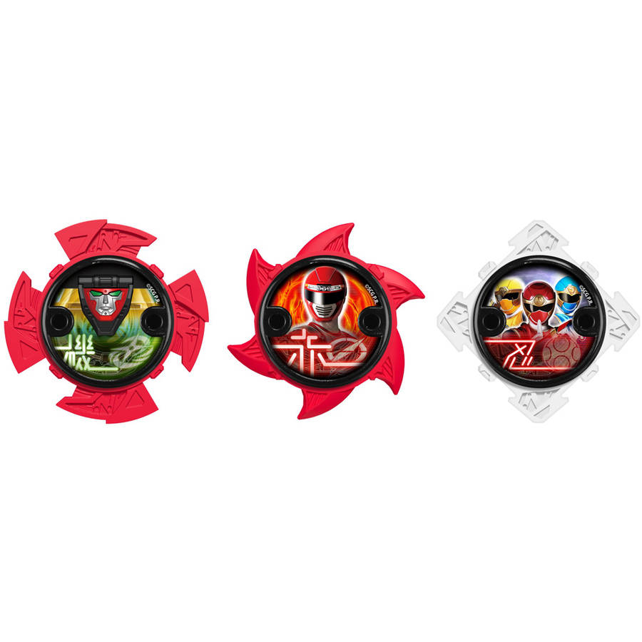 Power Rangers Ninja Steel Ninja Power Star Pack, 43759 by Bandai America, Inc