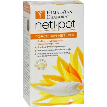 Himalayan Institute Neti Wash Ceramic Neti Pot - 1 Pot - Himalayan Institute Neti Pot