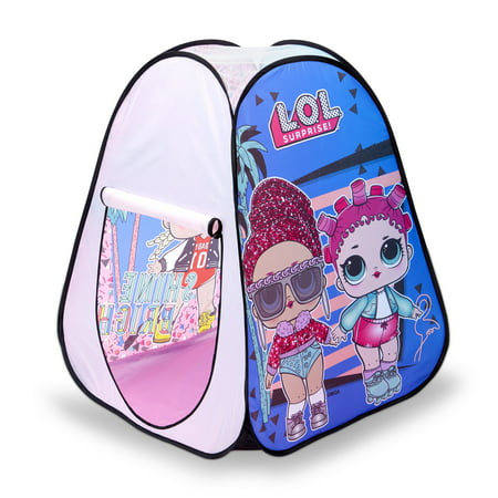 L.O.L. Surprise! Indoor/Outdoor Pop-Up Play Tent Now $10.99 (Was $29.99)