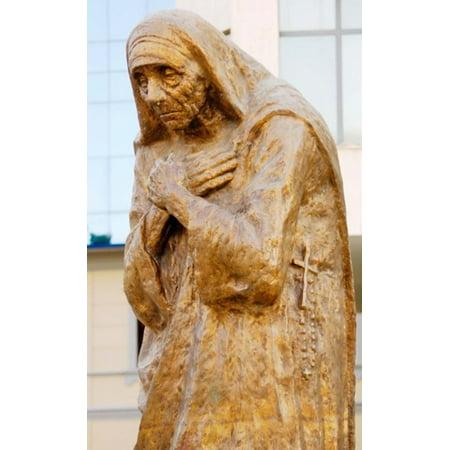 Mother Teresa of Calcutta India Canvas Art - Prisma Archivo DanitaDelimont (17...