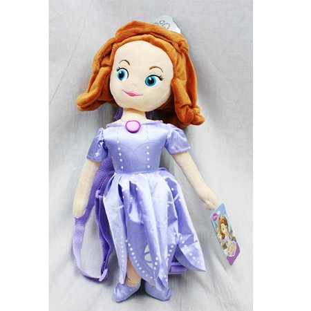 Plush Backpack - - Sofia The First 18 Soft Doll Gifts Toys New 641900
