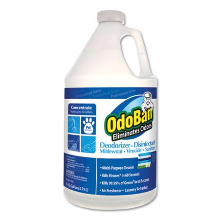 Concentrate Odor Eliminator and Disinfectant, Fresh Linen, 128 - Odor Control Concentrate