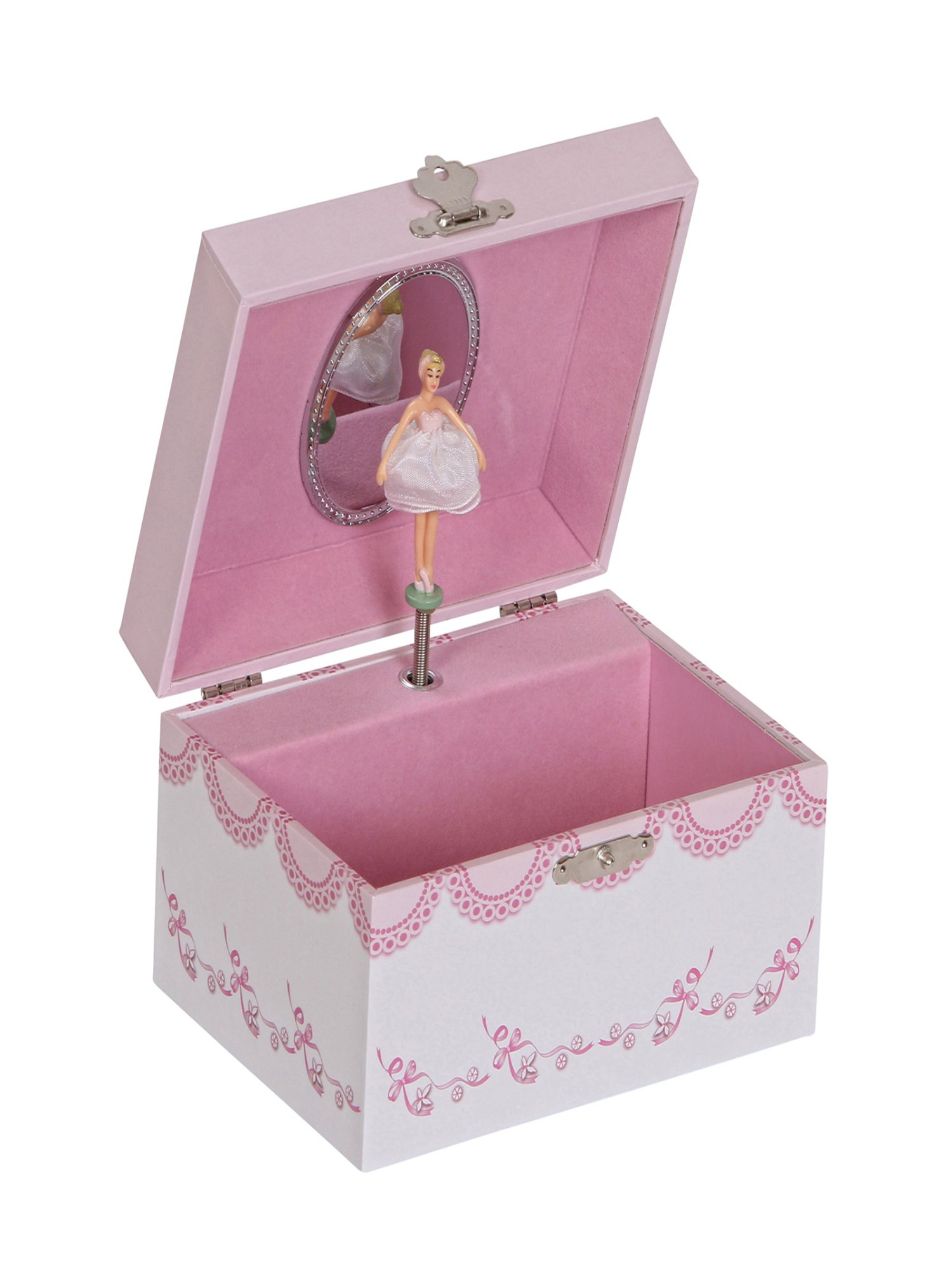 Mele amp Co Clarice Girls Musical Ballerina Jewelry Box Walmartcom