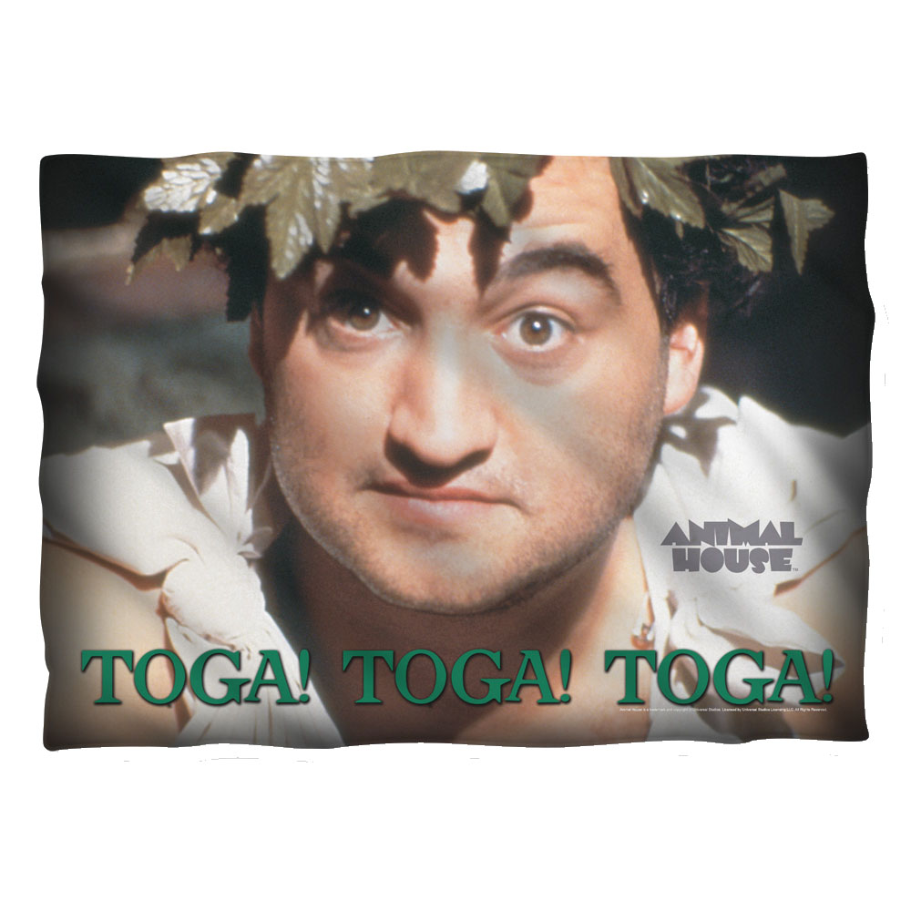 Animal House Toga Pillow Case White One Size
