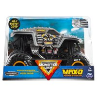 Monster Jam, Official Max D Monster Truck, Die-Cast Vehicle, 1:24 Scale (Styles May Vary)