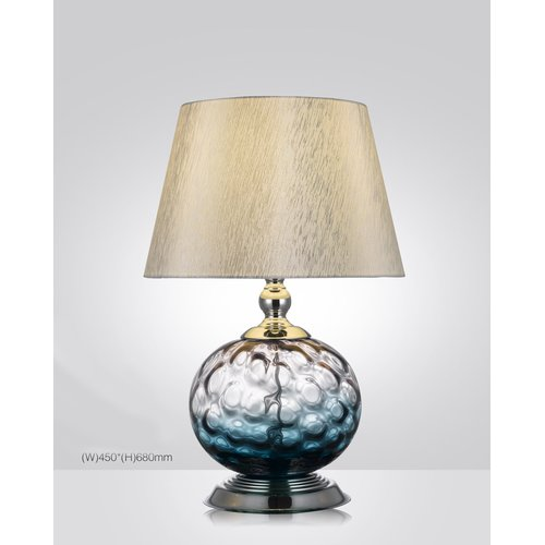 Latitude Run Mcconnell Hand Blown Glass 26'' Table Lamp