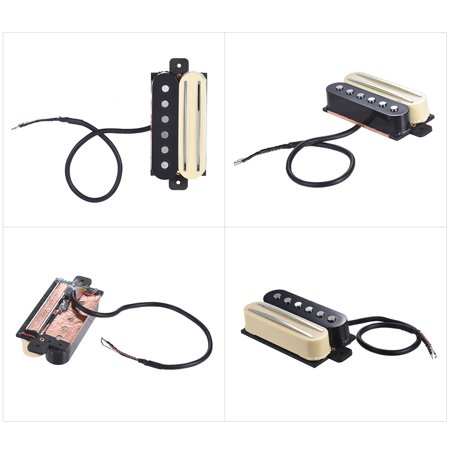 Electric Guitar Dual Rail Humbucker Humbucking & Single Coil Pickup for ST for Gibson Epiphone Les