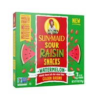 Sun-Maid Sour Watermelon Raisin Snacks 7-0.7 oz. Pouches