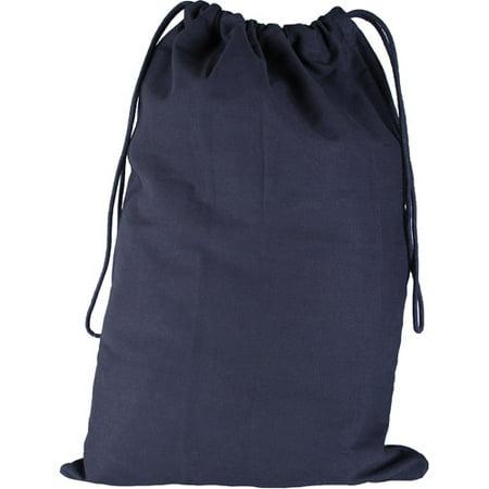Canvas Laundry Bag  Black  18  X 27
