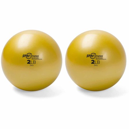 Peak Pilates Weighted Balls, 2 lbs, Set of 2
