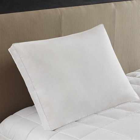 Sleep Philosophy True North Firm White Feather and Down Compartment Pillow, Standard