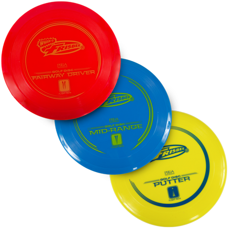 Frisbee Disc Golf 3 Pack