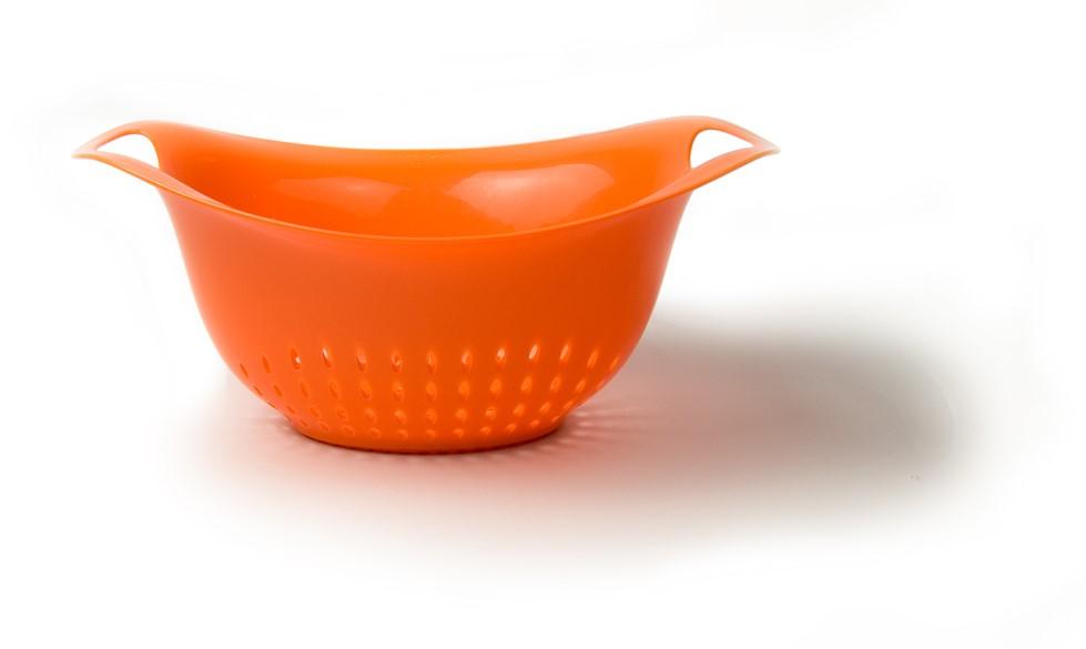 Architec Gripper Colander 1 Qt, Orange by Architec