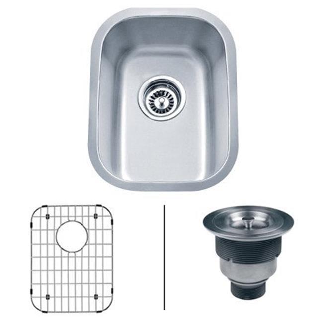 Ruvati Rvm4111 16 Gauge Parmi Undermount Bar Prep Sink Single Bowl