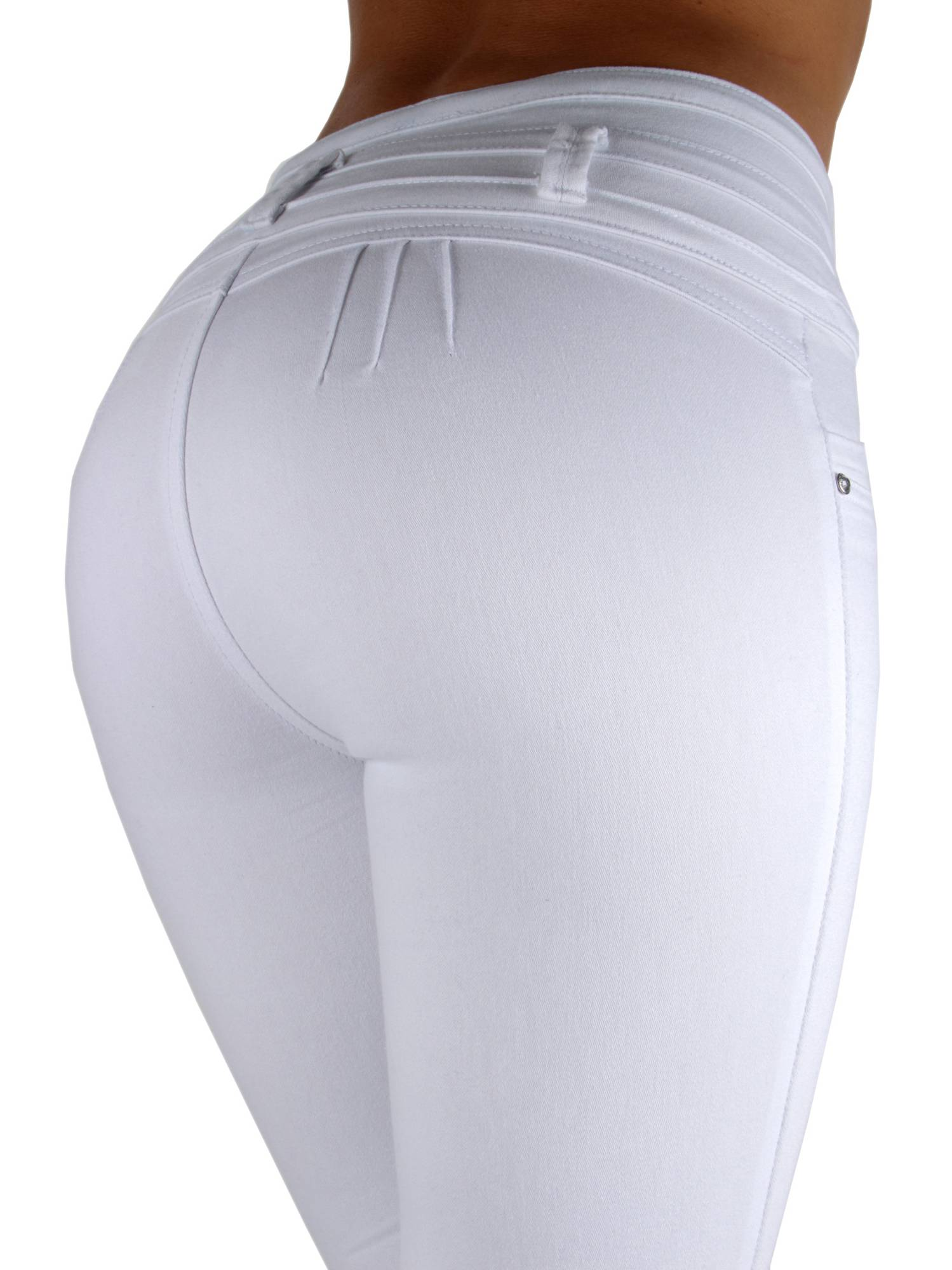Colombian Design, Levanta Cola, High Waist Skinny Jeans