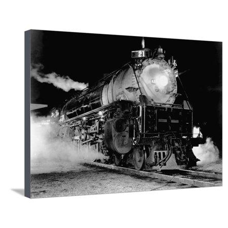 Union Pacific Locomotive Stretched Canvas Print Wall (Locomotive Union)