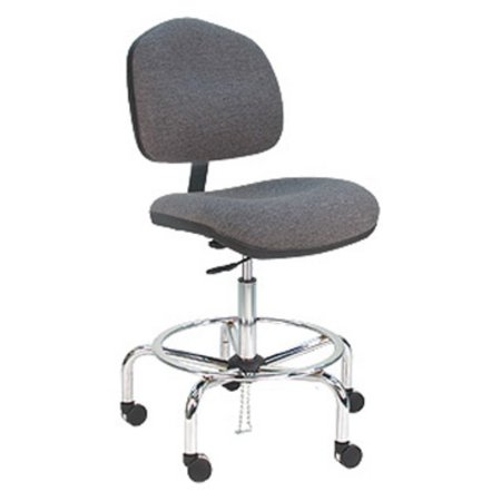 Enjoyable Bench Pro Deluxe Ergonomic Esd Anti Static Fabric Wide Chair Ocoug Best Dining Table And Chair Ideas Images Ocougorg