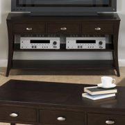 Jofran Manhattan Espresso Sofa/Media Unit